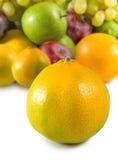 Isolated image of fruits closeup Royalty Free Stock Image