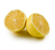 Isolated image of a lemon Royalty Free Stock Photos