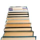Isolated image of many books close up Stock Photo