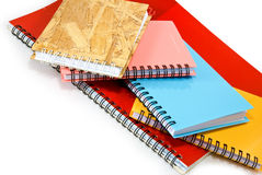 Isolated image of a notebook Royalty Free Stock Photo