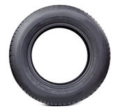 Isolated image of radial tire Stock Photos