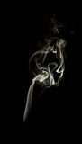Isolated incense smoke Stock Image