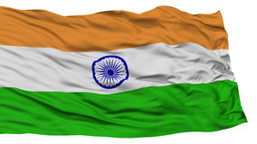 Isolated India Flag. Waving on White Background, High Resolution Stock Photos