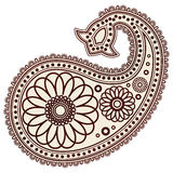 Isolated indian designs Royalty Free Stock Photos
