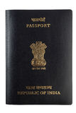 Isolated indian passport Royalty Free Stock Images