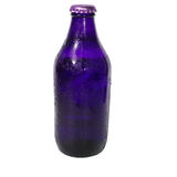 Isolated Indigo Beer Bottle Royalty Free Stock Image