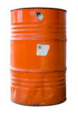 Isolated Industrial Waste Drum Royalty Free Stock Image