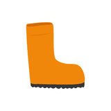 Isolated industry boot. Icon  illustration graphic design Stock Photos