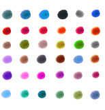 Isolated ink mark Stock Photography