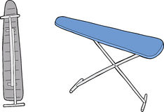 Isolated Ironing Board Stock Photography