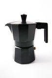 Isolated Italian coffee machine Stock Image