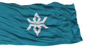 Isolated Iwate Japan Prefecture Flag Royalty Free Stock Photography