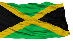 Isolated Jamaica Flag Stock Images