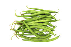 Isolated Japanese green beans Stock Images