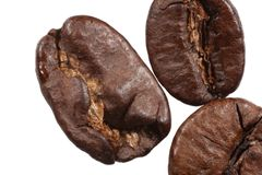 Isolated Java Beans Royalty Free Stock Image