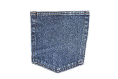 Isolated Jeans' Pocket Stock Photos