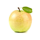 Isolated Juicy Orange Apple Isolated On White Royalty Free Stock Photo