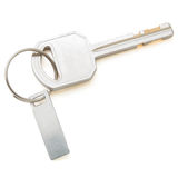 Isolated Keys on White with Clipping Path Royalty Free Stock Image