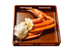 Isolated king crab leg. Stock Photography