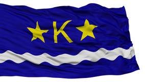 Isolated Kinshasa City Flag Royalty Free Stock Photography