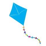Isolated kite toy Stock Photos