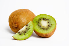 Isolated kiwi arrangement Royalty Free Stock Photography