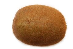 Isolated kiwi fruit on white Stock Photos