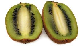 Isolated kiwi fruit on white Stock Photography