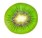 Isolated kiwi. Half of kiwi fruit isolated on white background with clipping path Stock Photography