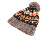 Isolated knitted cap Stock Photography