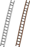 Isolated Ladder Royalty Free Stock Image