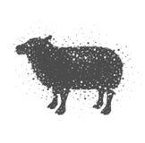 Isolated lamb animal design Royalty Free Stock Image