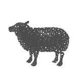 Isolated lamb animal design Stock Photography