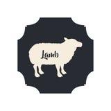 Isolated lamb livestock animal design Stock Image