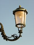 Isolated lamp in Venice Stock Images