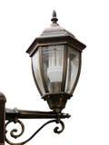 Isolated lantern. Street lantern stylised under olden time Stock Images