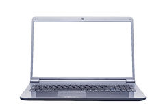 Isolated laptop computer Stock Photos