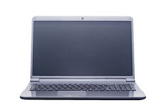 Isolated laptop computer Stock Photo