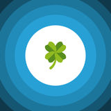 Isolated Leaf Flat Icon. Leafage Vector Element Can Be Used For Leaf, Foliage, Leafage Design Concept. Leafage Vector Element Can Be Used For Leaf, Foliage Royalty Free Stock Photography