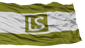Isolated Lees Summit City Flag, United States of America Royalty Free Stock Photos