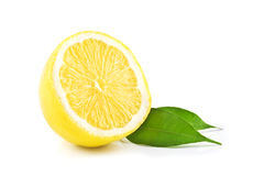 Isolated lemon Royalty Free Stock Photo