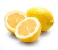 Isolated lemon Stock Photo