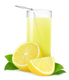Isolated Lemonade Royalty Free Stock Photography