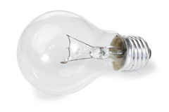Isolated light bulb Royalty Free Stock Photography
