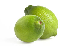 Isolated lime green Stock Photos