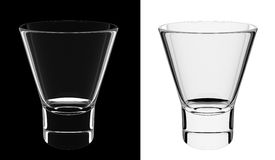 Isolated liqueur glass Royalty Free Stock Photo