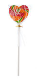 Isolated lollipop on white. Background Royalty Free Stock Image