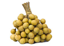 Isolated longan Royalty Free Stock Images