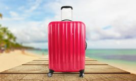 Isolated luggage  Stock Photography