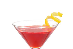 Macro cosmo martini shallow DOF Royalty Free Stock Image